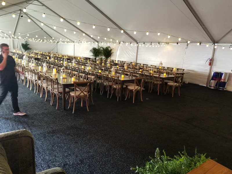 Farm Tables and XBack Chairs