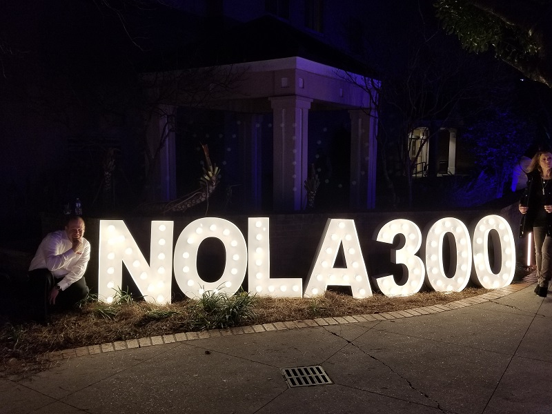 Lighted Letters NOLA 300