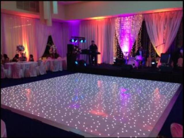 Where to find DANCE FLOOR, WHITE LIGHTED 20X20 in New Orleans