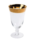 Rental store for GLASS, GOLD RIM WATER 16OZ in New Orleans LA